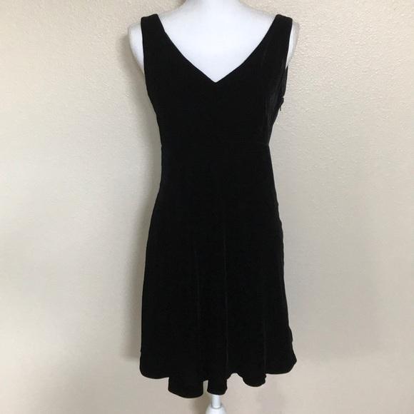 Dkny Dresses Velvet Silk Little Black Dress Nwot Poshmark
